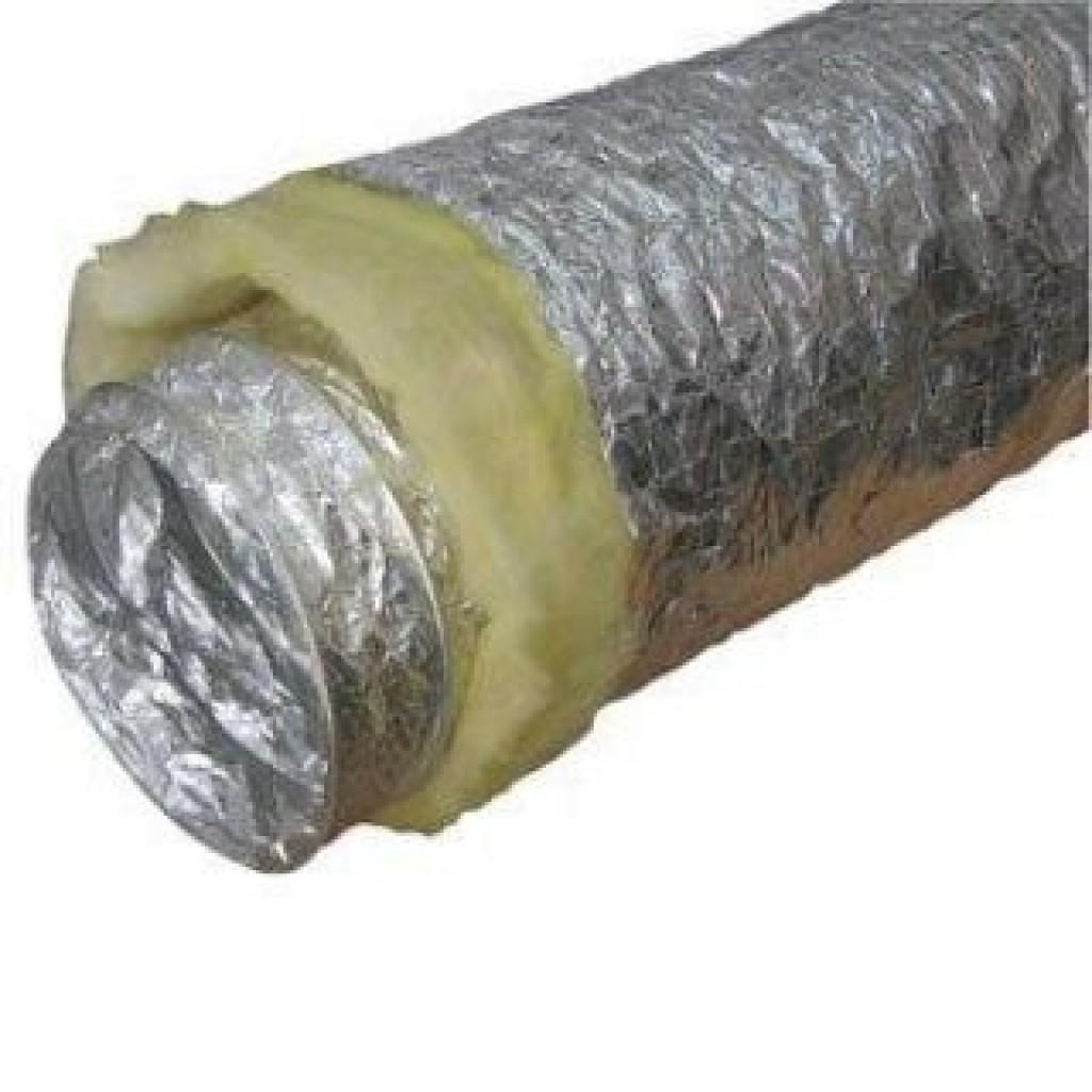 Гибкий воздуховод изолированный 250 мм